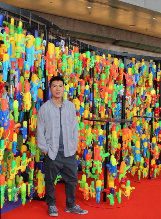 Water Pistol Tribute to Hong Kong's History of Plastic Toy Production by Douglas Young