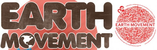 EARTH MOVEMENT banner