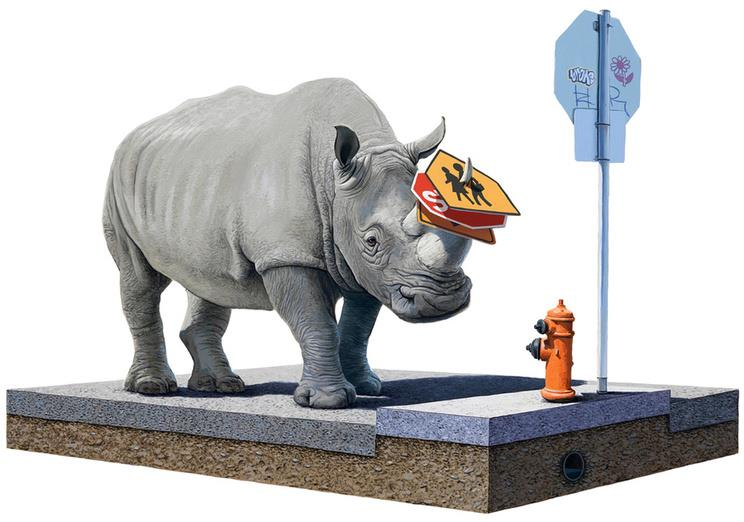Josh Keyes: The Collector