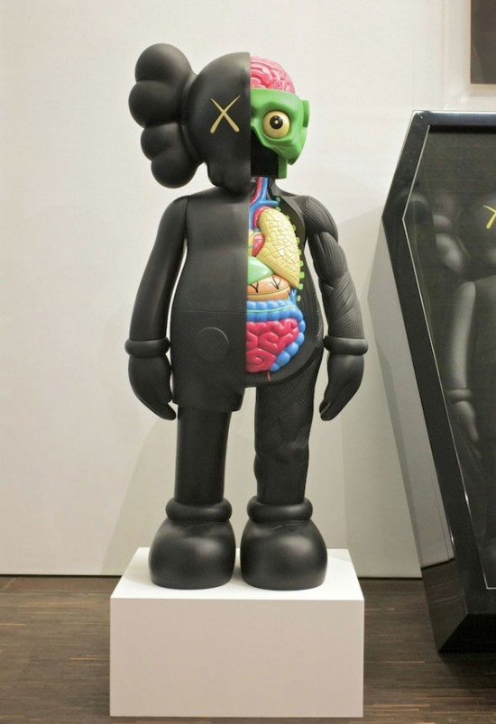 KAWS Companions in coffins