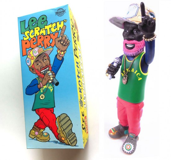 Lee Scratch Perry vinyl toy by Presspop