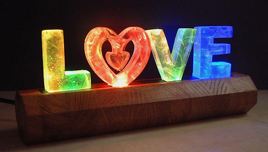 Love Light by Names in Lights