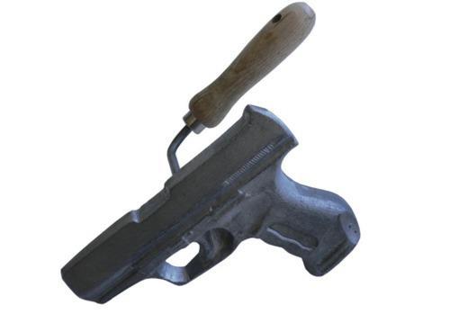 metal gun embosser by Vlieger & Vandam