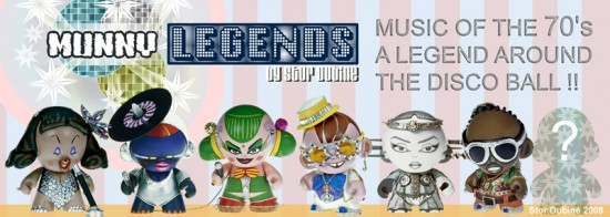 Munny Legends of the 70s by Stor Dubiné