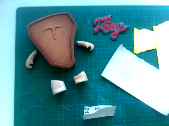 T-Boy in progress by Sergio Neves