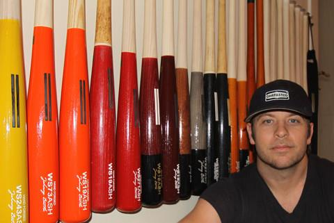 Colorful Wooden Baseball Bats by Warstic