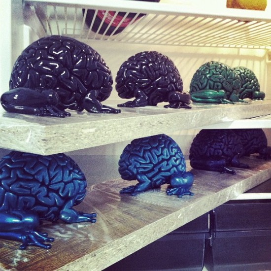 @lapolab busy painting jumping brains in an undisclosed Spanish laboratory.