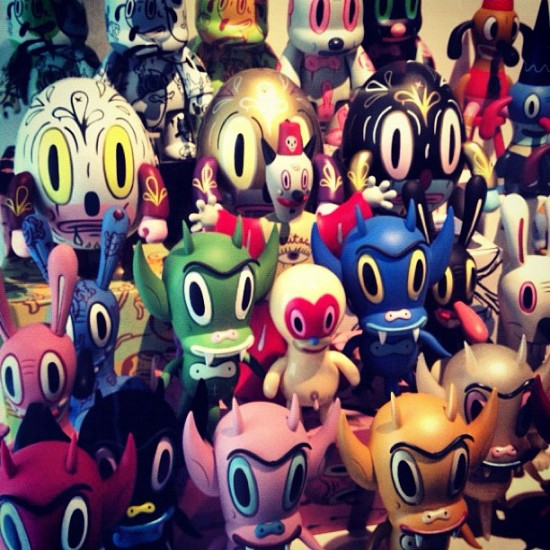 Another amazing shot from @toykio's collection in Germany. This one's the @garybaseman family.