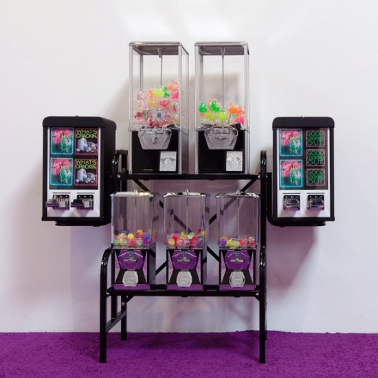 """Lovely Day Coin Machine"" installation by @patrick_martinez_studio for Known Gallery."