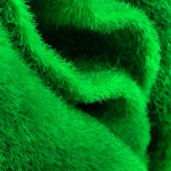 @prettyinplastic is such a tease posting what looks like a flocked green Muppet vagina.