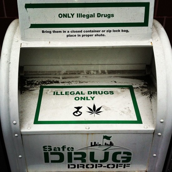 Illegal drug dropoff? Hmmm... Photo by @birdmanphotos.