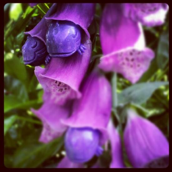 """""""Blooming Killers"""" by @ghostandflower in Portland."""