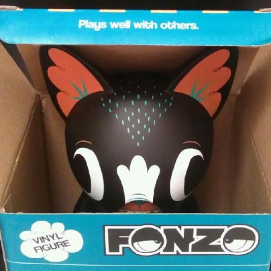 Fonzo the dog, upcoming designer toys from @garyham!