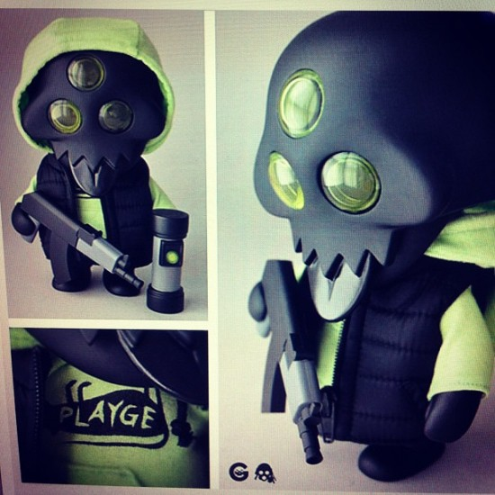 @fergbag reveals the @rotofugi exclusive Squadt for San Diego Comic-Con!