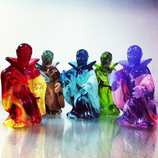 Check out these Ruxpin resins by @healeymade!