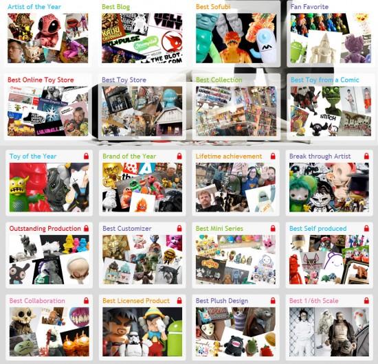 Designer Toy Awards 2012