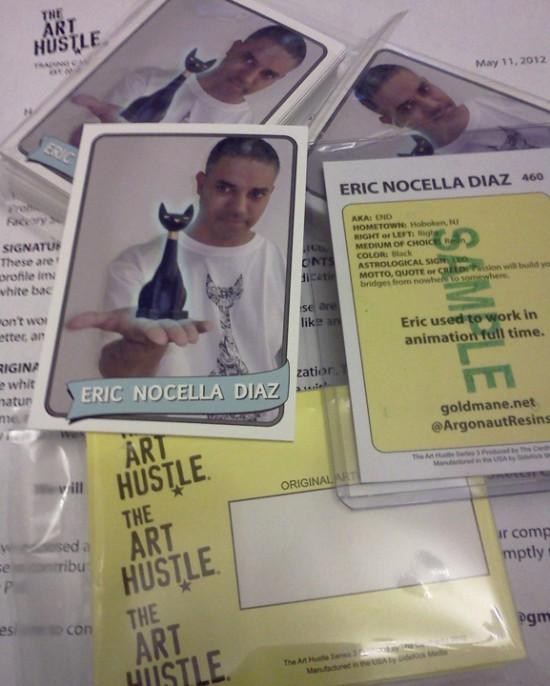 Eric Nocella Diaz for The Art Hustle