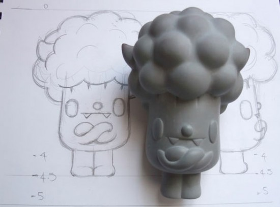 Achieving a great Broccoli Afro by Paul Shih