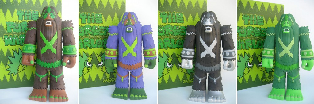 Bigfoot Forest Warlord Vinyl Toys