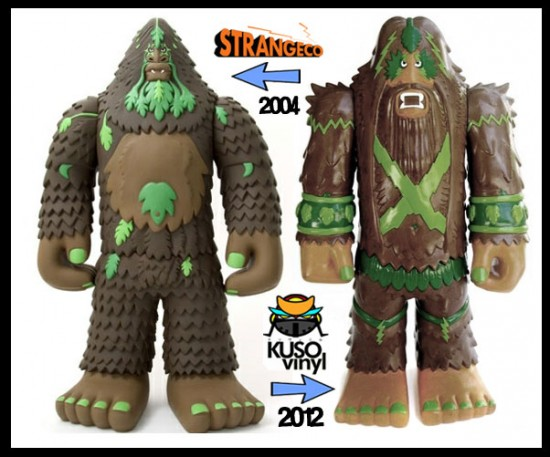 Bigfoot toy comparison
