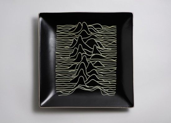 Joy Division - Peter Saville Unknown Pleasures tribute by Brock Davis