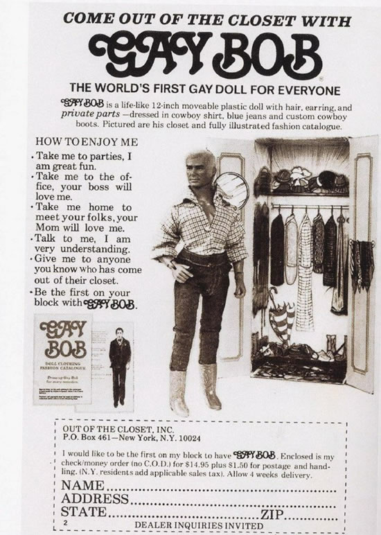 Gay Bob Advertisement