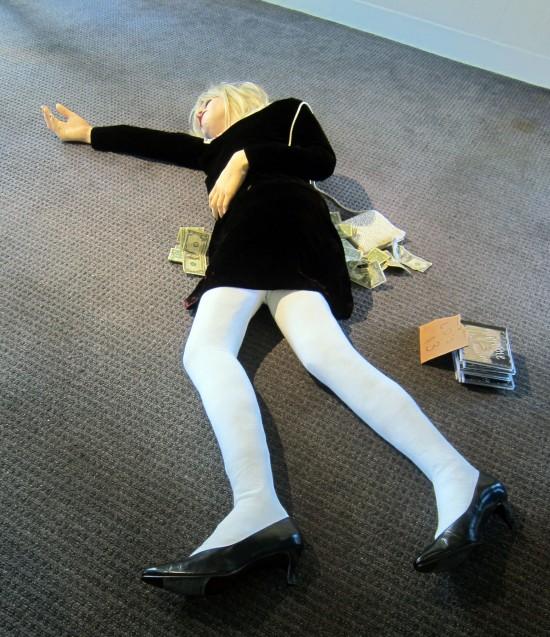 Courtney Love as Miss World by Matt Momchilov