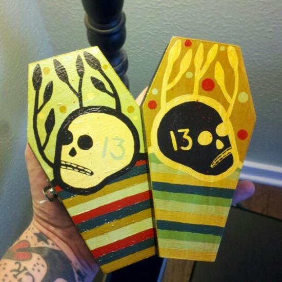 Coffins by Mike Egan