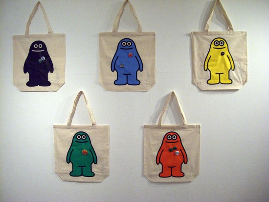 Amos Generic Character Bags by James Jarvis / Amos Toys