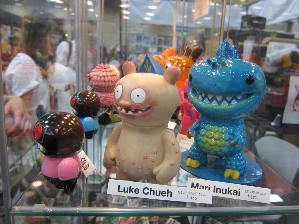 Custom Uglydolls At Comic Con 2012