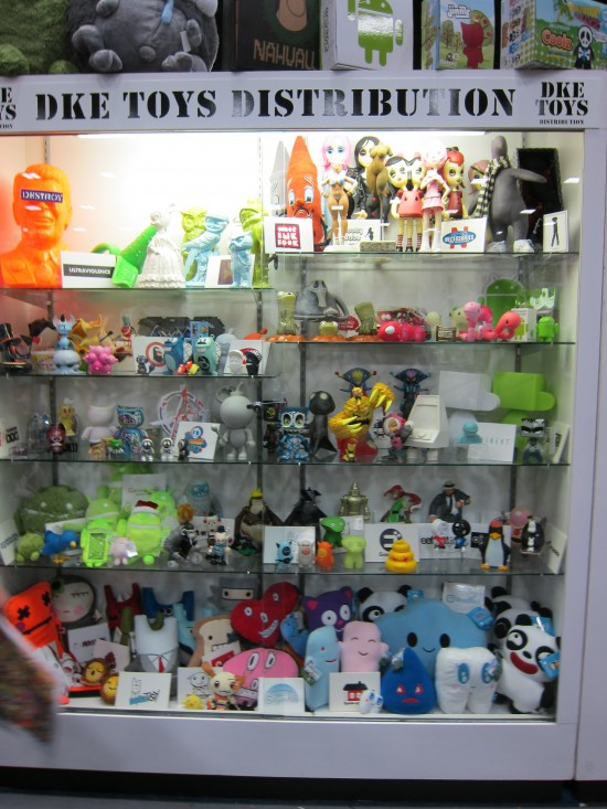 DKE designer toys at SDCC