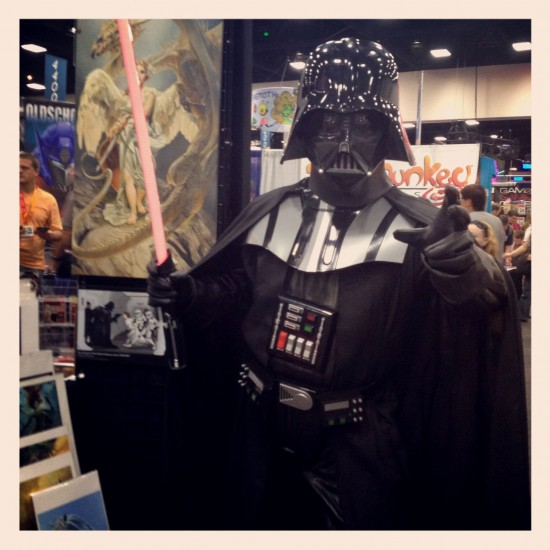 Darth Vader art lover
