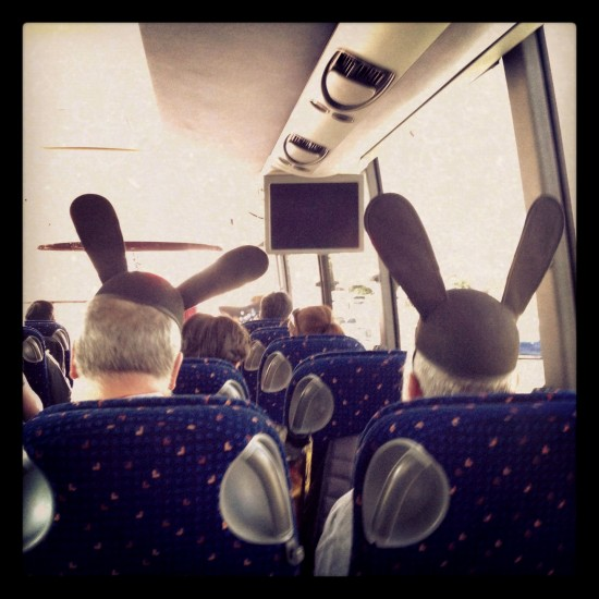 Dunny bus riders