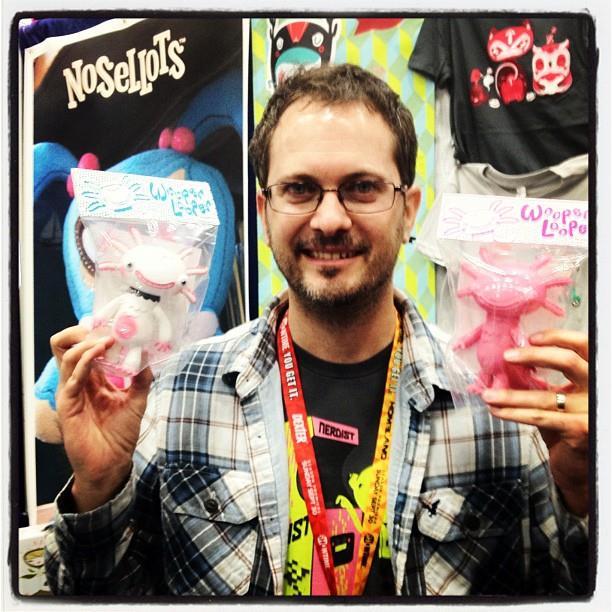 Gary Ham at Comic-Con 2012