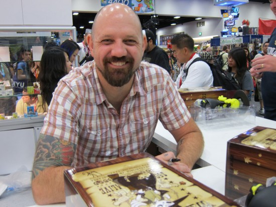 Huck Gee signing at Comic-Con 2012