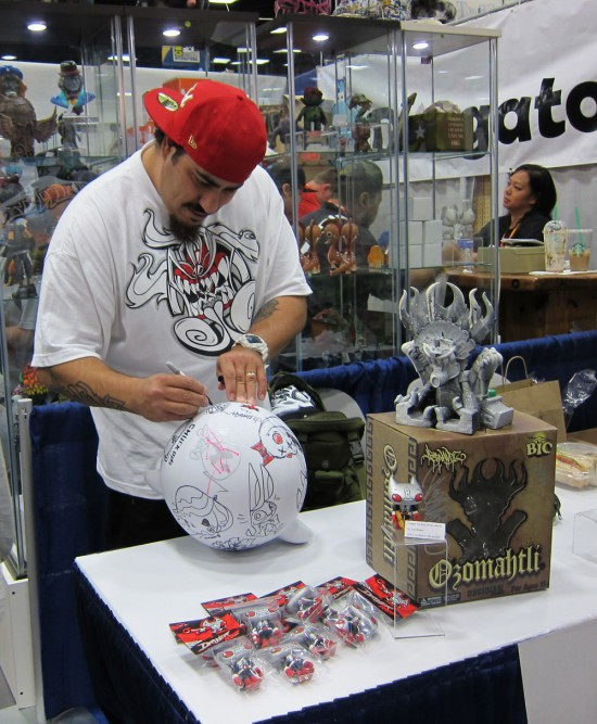 More Jesse Hernandez at Kuso Vinyl, Comic-Con 2012!