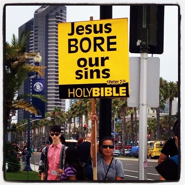 Jesus at Comic-Con 2012