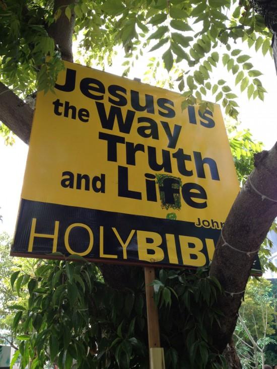 Jesus at Comic-Con 2012