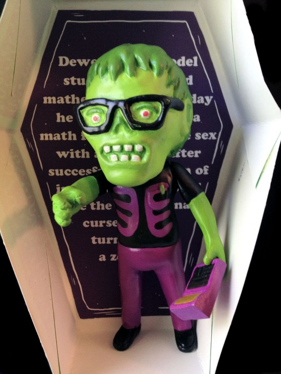 Dewey the Zombie With Action Calculator by Joseph Harmon