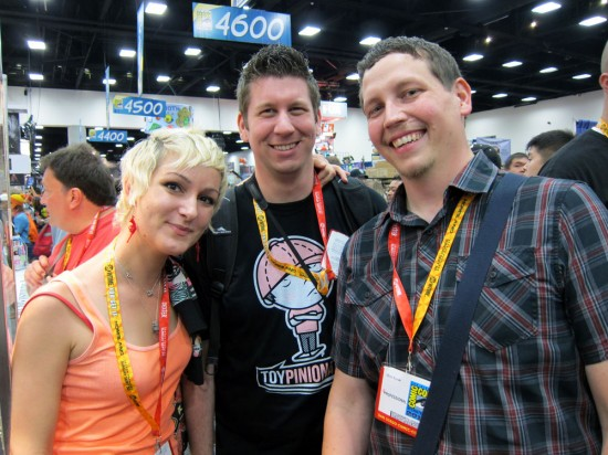 Julie B, Matt Hisey and Chris Ryniak