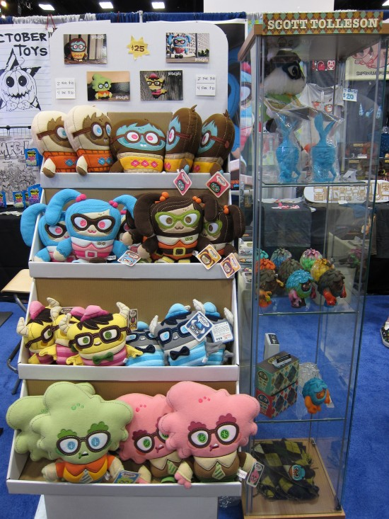 Nosellots Plushes by Scott Tolleson