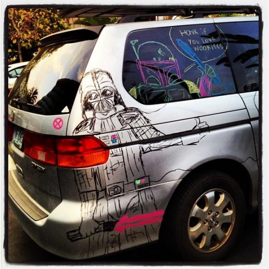 Comic-Con Wookie Car