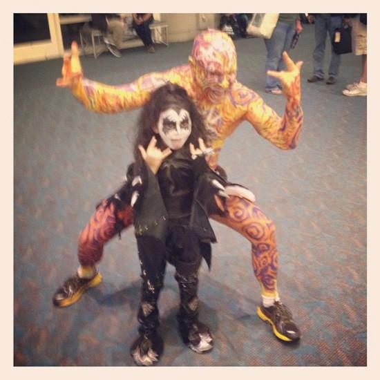 Costumes at Comic-Con