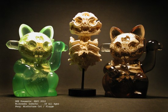 Scott Wilkowski x Ferg SDCC Misfortune Cats
