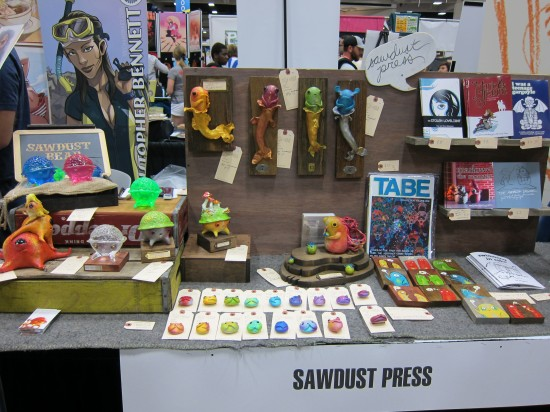 Sawdust Bear at Comic-Con 2012