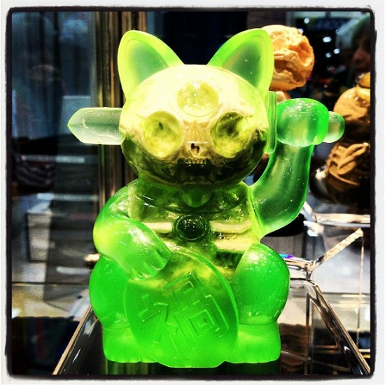 Scott Wilkowski x Ferg Infected Misfortune Cat for Comic-Con 2012