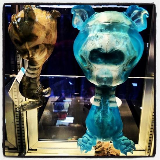 Scott Wilkowski x Brandt Peters Infected Skelve for Comic-Con 2012