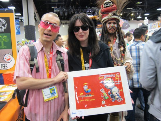 The Sucklord, Sharon Kozik and Jack Sparrow photobomb