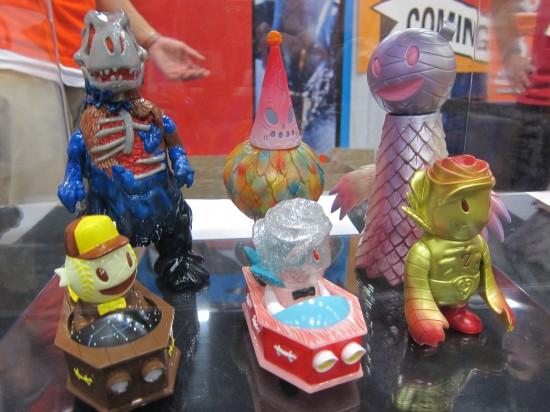 Mashups and Customs at Super7, Comic-Con 2012