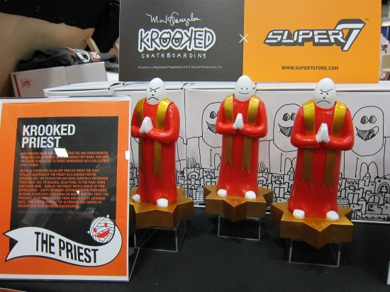 Krooked Priest Vinyl Toys by Mark Gonzales